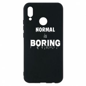 Etui na Huawei P20 Lite Normal is boring