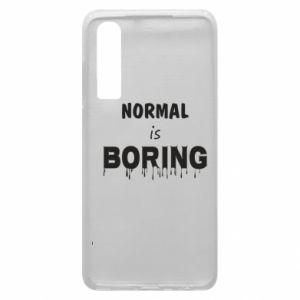 Etui na Huawei P30 Normal is boring