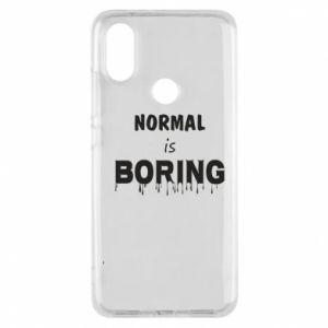 Etui na Xiaomi Mi A2 Normal is boring