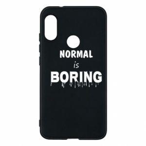 Etui na Mi A2 Lite Normal is boring