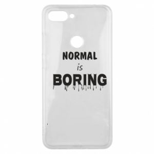 Etui na Xiaomi Mi8 Lite Normal is boring