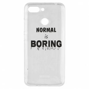 Etui na Xiaomi Redmi 6 Normal is boring