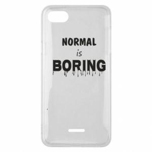 Etui na Xiaomi Redmi 6A Normal is boring