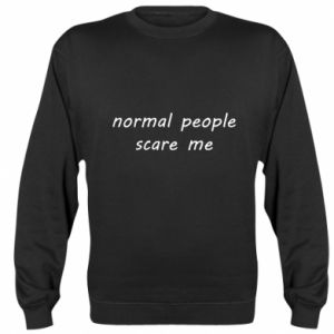 Bluza (raglan) Normal people scare me