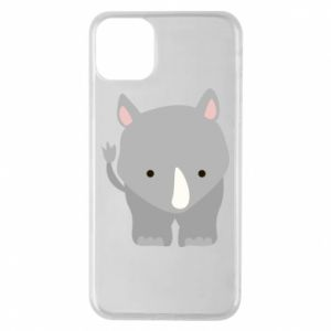 Phone case for iPhone 11 Pro Max Rhinoceros