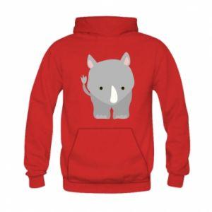 Kid's hoodie Rhinoceros