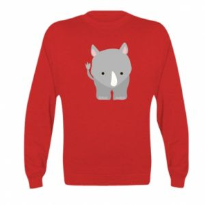 Kid's sweatshirt Rhinoceros