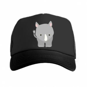 Trucker hat Rhinoceros