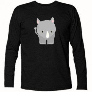 Koszulka z długim rękawem Nosorożec