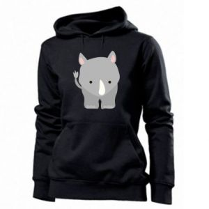 Women's hoodies Rhinoceros