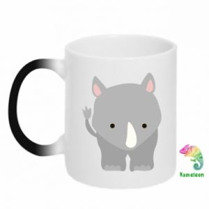 Magic mugs Rhinoceros