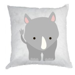 Pillow Rhinoceros