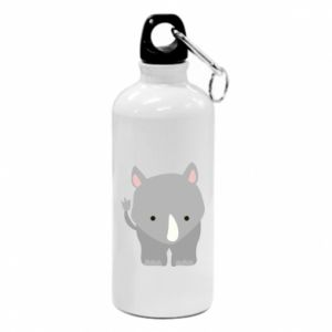 Water bottle Rhinoceros