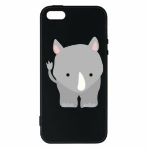 Phone case for iPhone 5/5S/SE Rhinoceros