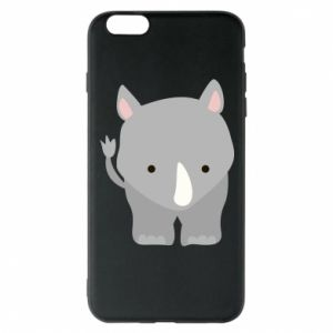 Phone case for iPhone 6 Plus/6S Plus Rhinoceros