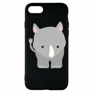 Phone case for iPhone 8 Rhinoceros