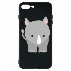 Phone case for iPhone 8 Plus Rhinoceros