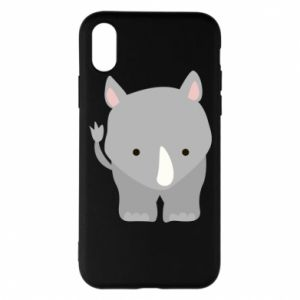 Phone case for iPhone X/Xs Rhinoceros