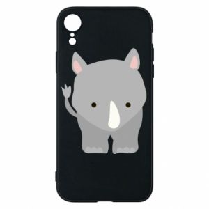 Phone case for iPhone XR Rhinoceros