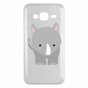 Phone case for Samsung J3 2016 Rhinoceros