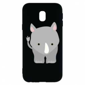 Phone case for Samsung J3 2017 Rhinoceros