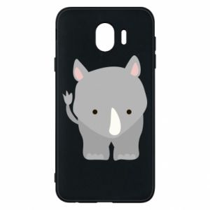 Phone case for Samsung J4 Rhinoceros