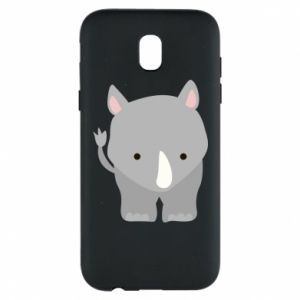 Phone case for Samsung J5 2017 Rhinoceros