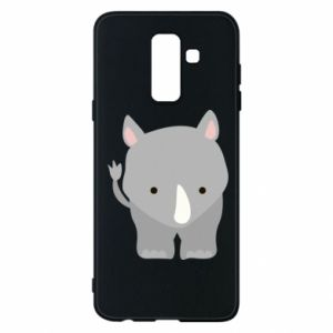 Phone case for Samsung A6+ 2018 Rhinoceros