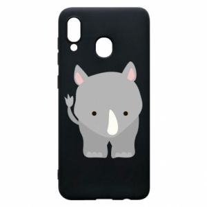 Phone case for Samsung A20 Rhinoceros