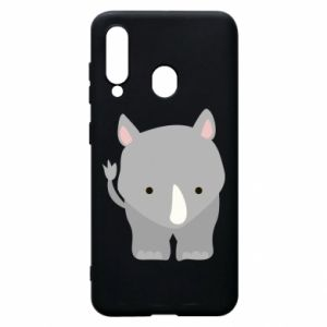Phone case for Samsung A60 Rhinoceros