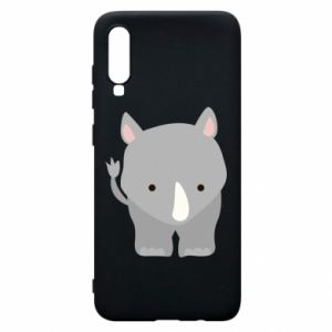 Phone case for Samsung A70 Rhinoceros