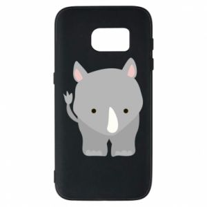Phone case for Samsung S7 Rhinoceros