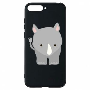 Phone case for Huawei Y6 2018 Rhinoceros