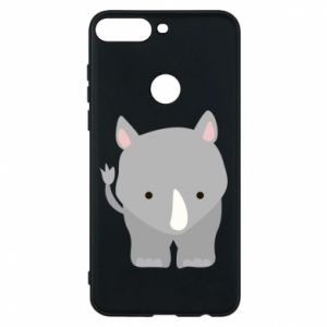Phone case for Huawei Y7 Prime 2018 Rhinoceros