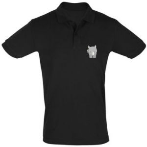Men's Polo shirt Rhinoceros