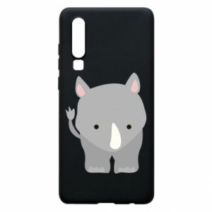 Phone case for Huawei P30 Rhinoceros