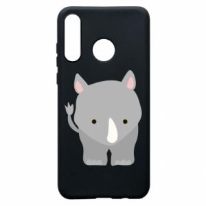 Phone case for Huawei P30 Lite Rhinoceros