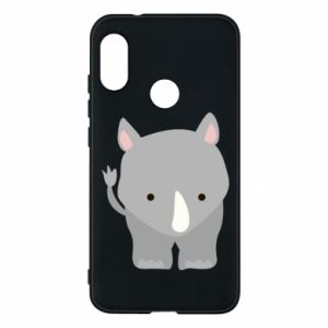 Phone case for Mi A2 Lite Rhinoceros