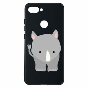 Phone case for Xiaomi Mi8 Lite Rhinoceros