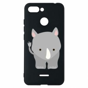 Phone case for Xiaomi Redmi 6 Rhinoceros