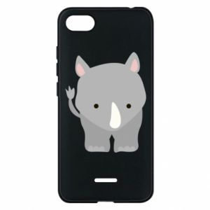 Phone case for Xiaomi Redmi 6A Rhinoceros