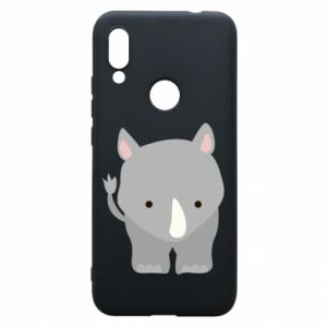 Phone case for Xiaomi Redmi 7 Rhinoceros