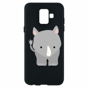 Phone case for Samsung A6 2018 Rhinoceros
