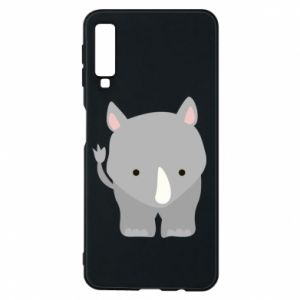 Phone case for Samsung A7 2018 Rhinoceros