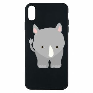 Phone case for iPhone Xs Max Rhinoceros