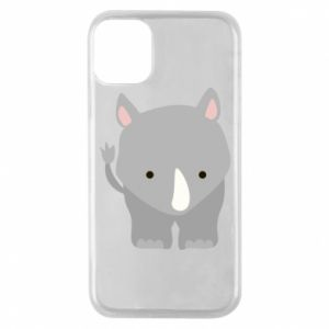 Phone case for iPhone 11 Pro Rhinoceros