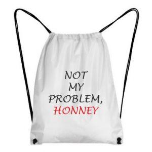 Plecak-worek Not my problem, honny