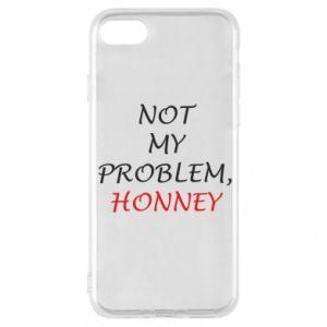 Etui na iPhone 8 Not my problem, honny