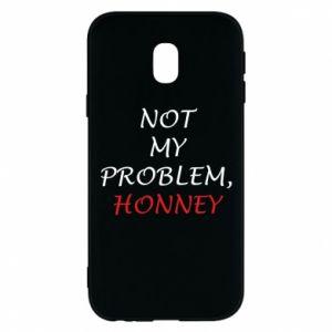 Etui na Samsung J3 2017 Not my problem, honny