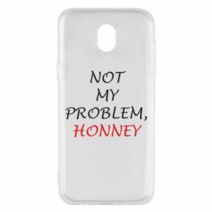Etui na Samsung J5 2017 Not my problem, honny